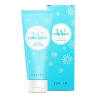 Пенка для умывания Enough W Collagen Pure Shining Foam Cleansing