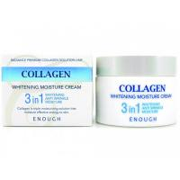 Крем для лица Enough Collagen 3 in 1 Whitening Moisture Cream