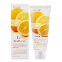 Крем для рук 3w Clinic Moisturizing Lemon Hand Cream