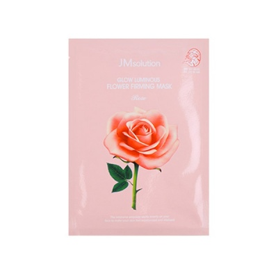 Тканевая маска JMsolution Glow Flower Firming Mask Rose